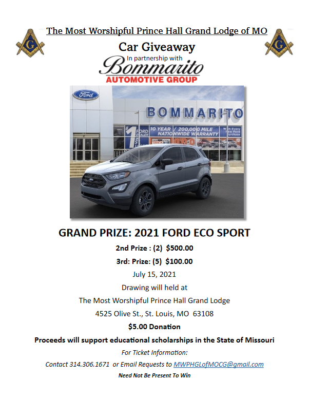 GLMOPHA Bommarito Auto Group Car Giveway